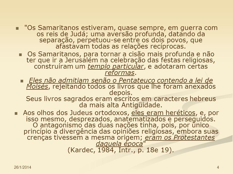 26/1/2014 5 Por que Jesus falava por parábolas.