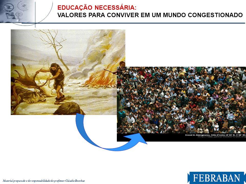 Material preparado e de responsabilidade do professor Cláudio Boechat EDUCAÇÃO NECESSÁRIA: APRENDER A CUIDAR DE NOSSA CASA