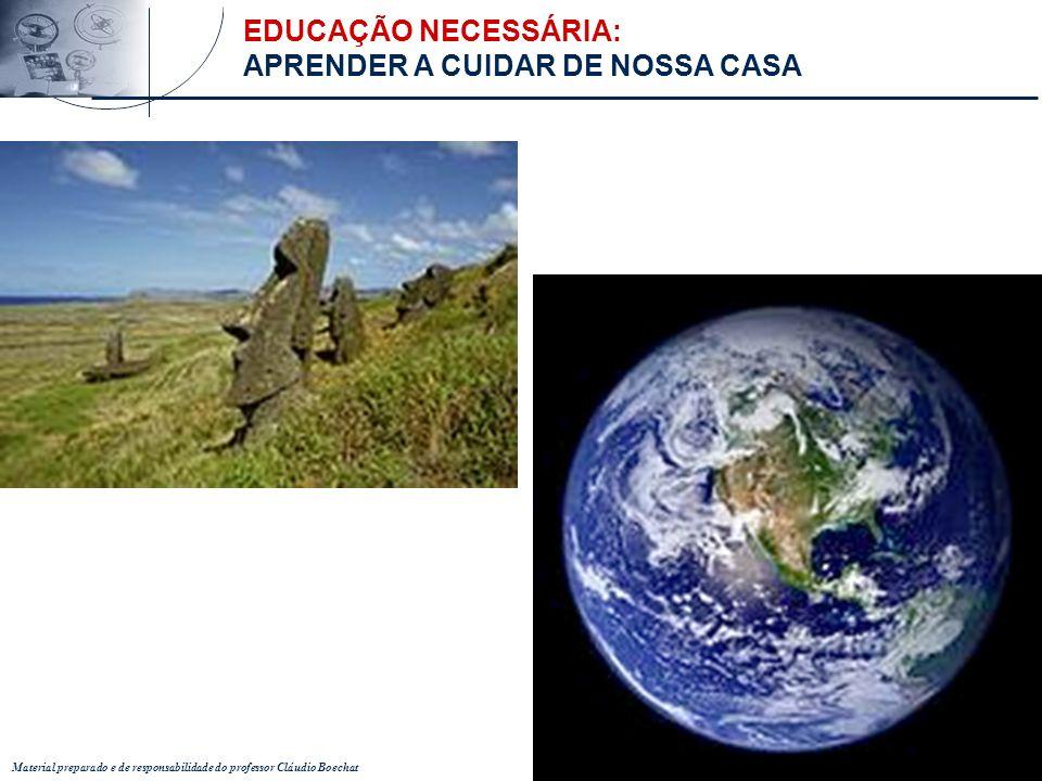 Material preparado e de responsabilidade do professor Cláudio Boechat Criar...