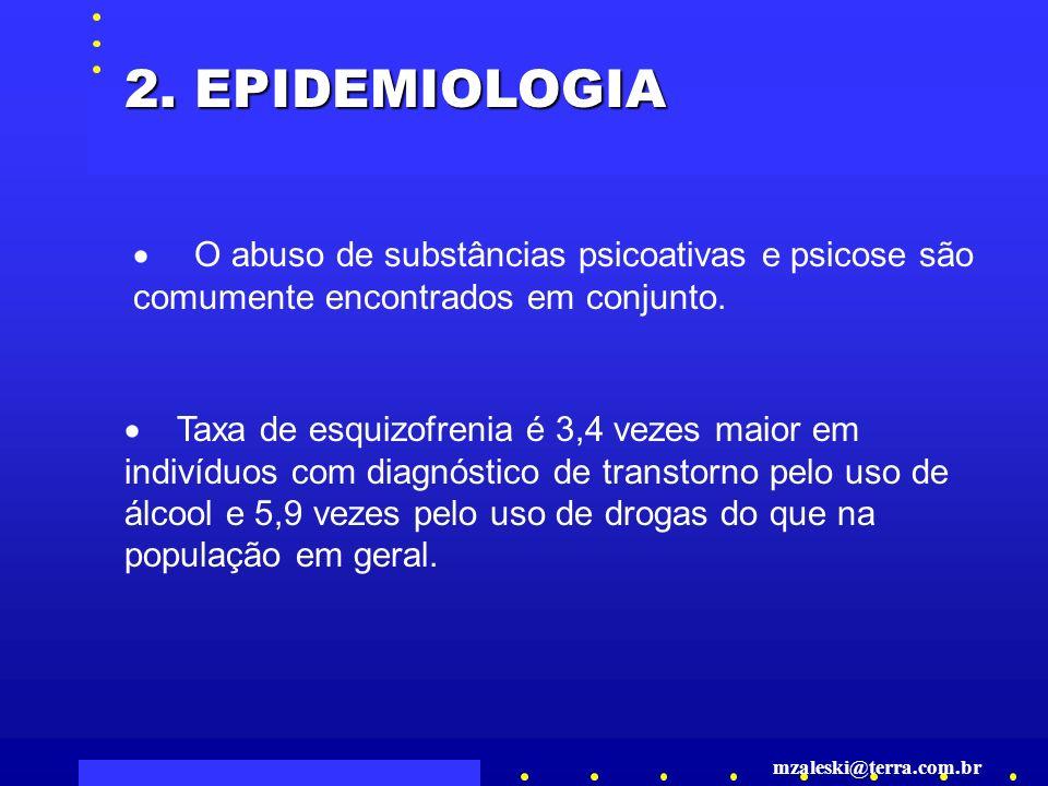 O abuso de substâncias psicoativas e psicose são comumente encontrados em conjunto.