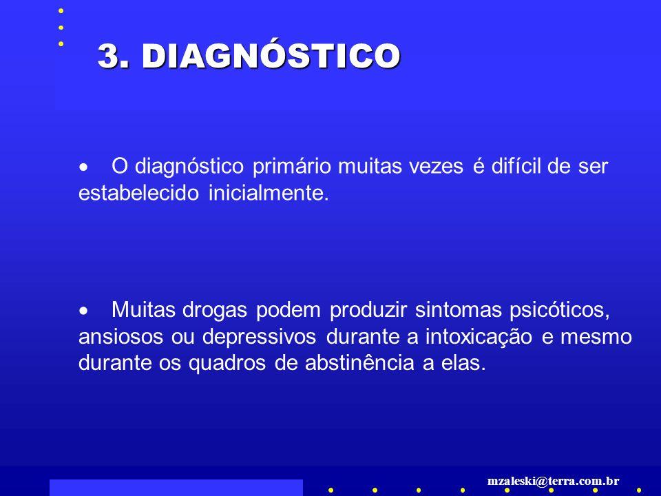 O diagnóstico primário muitas vezes é difícil de ser estabelecido inicialmente.