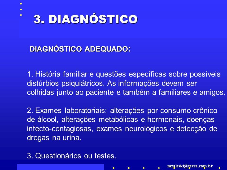 DIAGNÓSTICO ADEQUADO : 3.DIAGNÓSTICO 1.