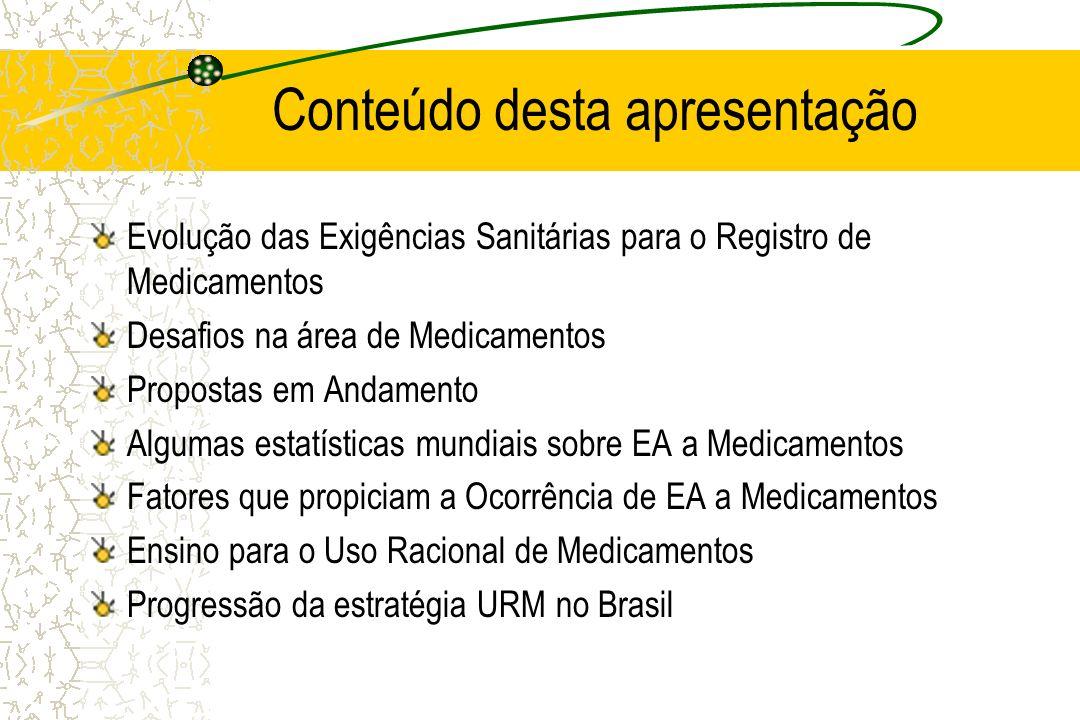 Ensino para o Uso Racional de Medicamentos Curso Internacional sobre o Uso Racional de Medicamentos, WHO, Departamento de Farmacologia da Faculdade de Medicina da Universidade de Gröningen, Holanda Enseñanza de Farmacoterapéutica Racional, WHO, La Plata, Argentina, 1999 e 2000.