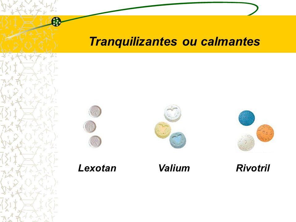 LexotanValiumRivotril Tranquilizantes ou calmantes