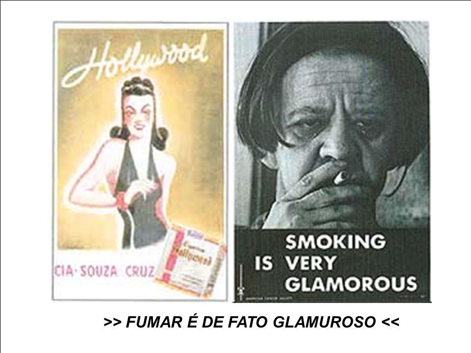 >> FUMAR É DE FATO GLAMUROSO <<