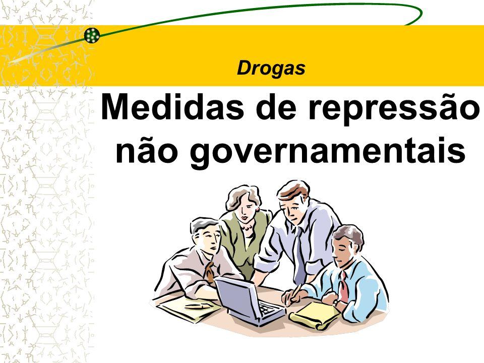 Medidas de repressão não governamentais Drogas