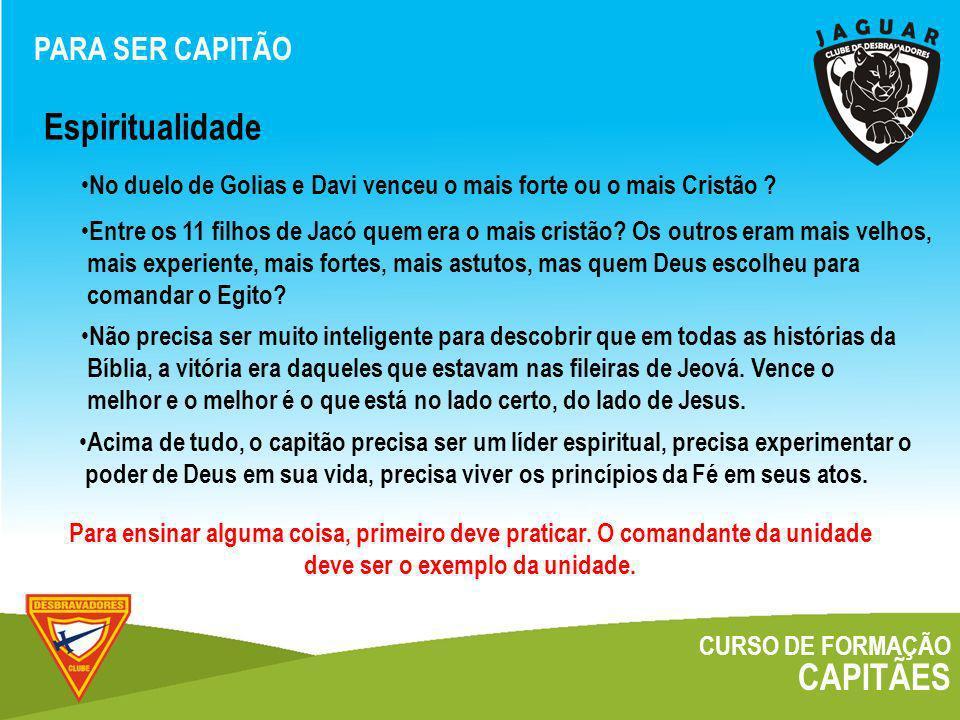 CURSO DE FORMAÇÃO CAPITÃES Organograma O CAPITÃO E O CLUBE