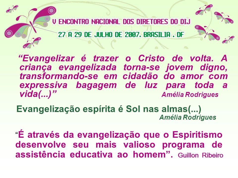 É a transmissão do conhecimento espírita e da moral evangélica pregada por Jesus, apontado pelos Espíritos superiores que trabalharam na Codificação,