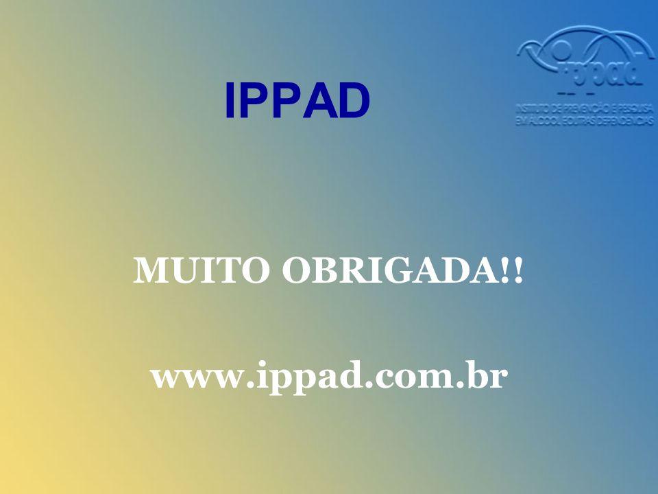 IPPAD MUITO OBRIGADA!! www.ippad.com.br