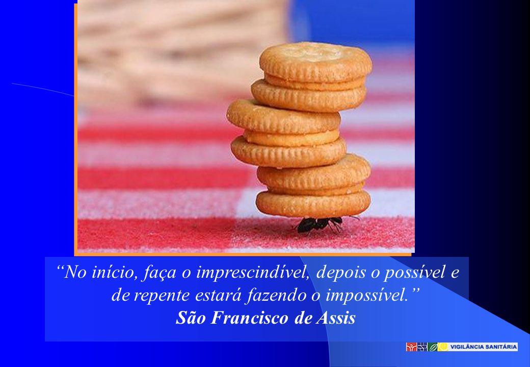 No início, faça o imprescindível, depois o possível e de repente estará fazendo o impossível. São Francisco de Assis