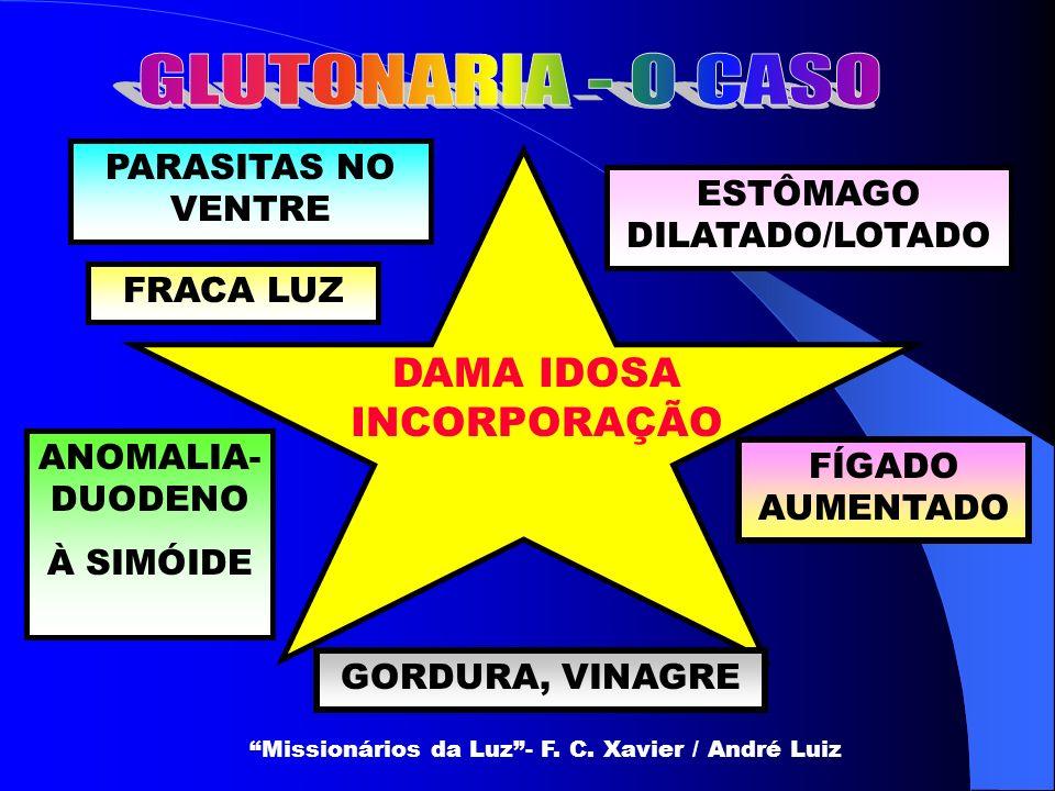 COMENTÁRIO DE ALEXANDRE TEMOS AQUI UMA POBRE AMIGA DESVIADA NOS EXCESSOS DE ALIMENTAÇÃO.