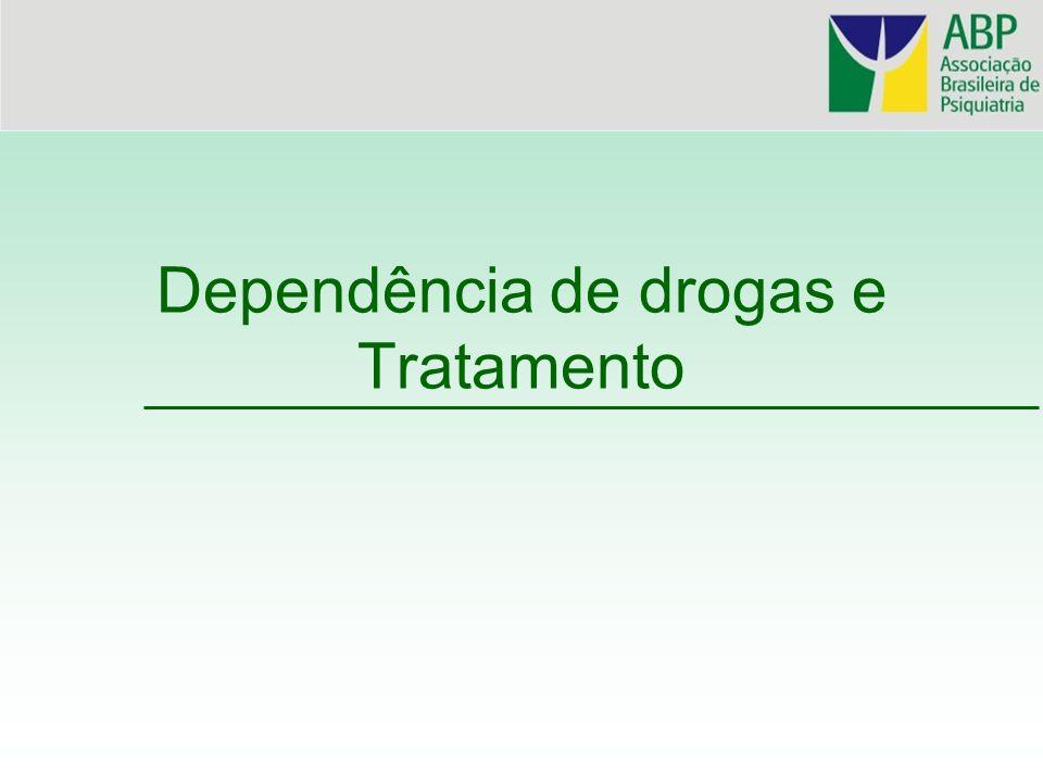 Dependência de drogas e Tratamento