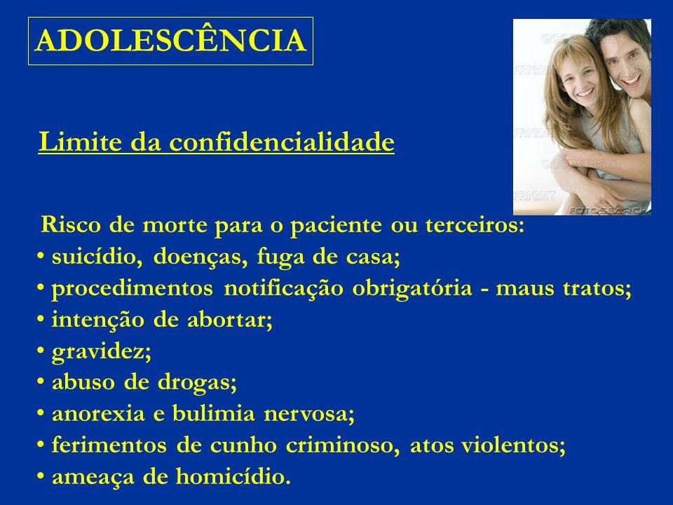ADOLESCÊNCIA ATENÇÃO .