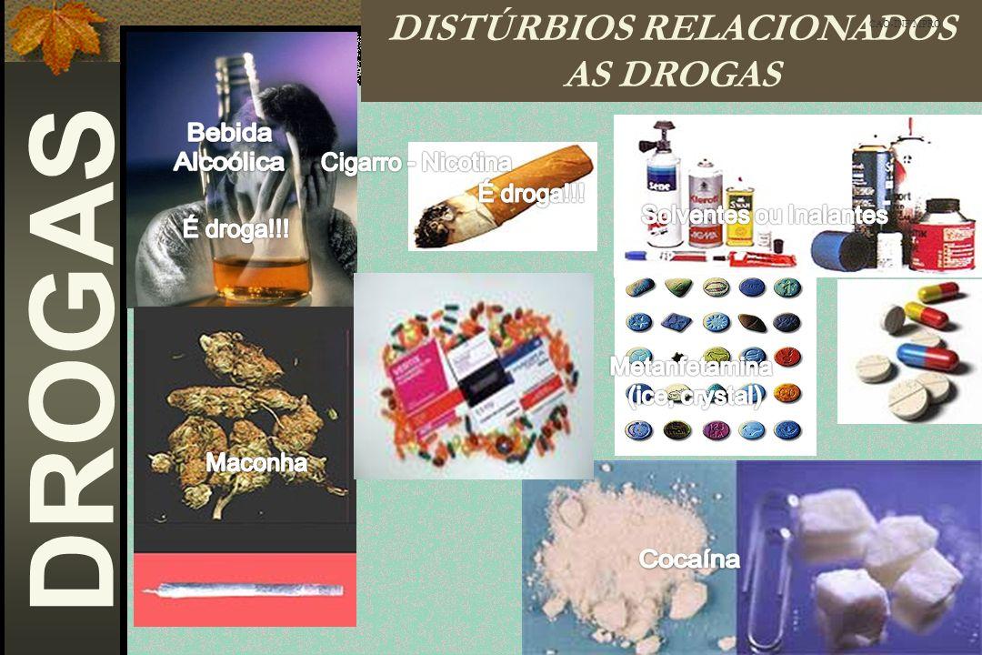 DISTÚRBIOS RELACIONADOS AS DROGAS CAO-INF/MPRO DROGAS