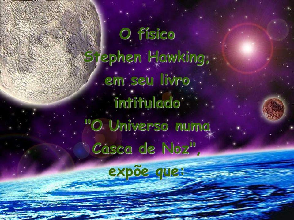 O físico Stephen Hawking, em seu livro intitulado