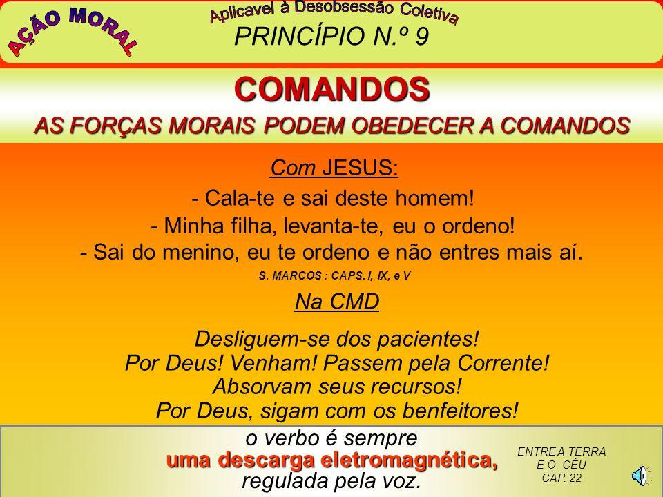 AGILIDADE DA CORRENTE E NÚMERO DE ATENDIMENTOS DOS ENCARNADOS...Os dirigentes de trabalhos de desobsessão em centros espíritas organizados (com CMD) p