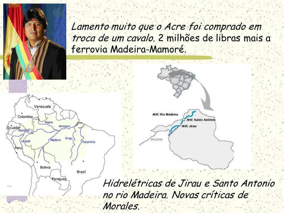 A Amazônia é vossa.