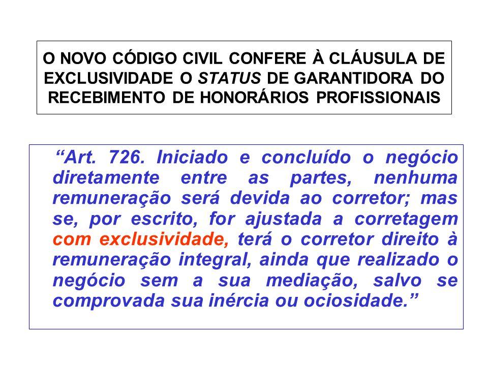 Código Civil Código Civil Lei n.º 10406 de 10 de janeiro de 2002 Capítulo da Corretagem