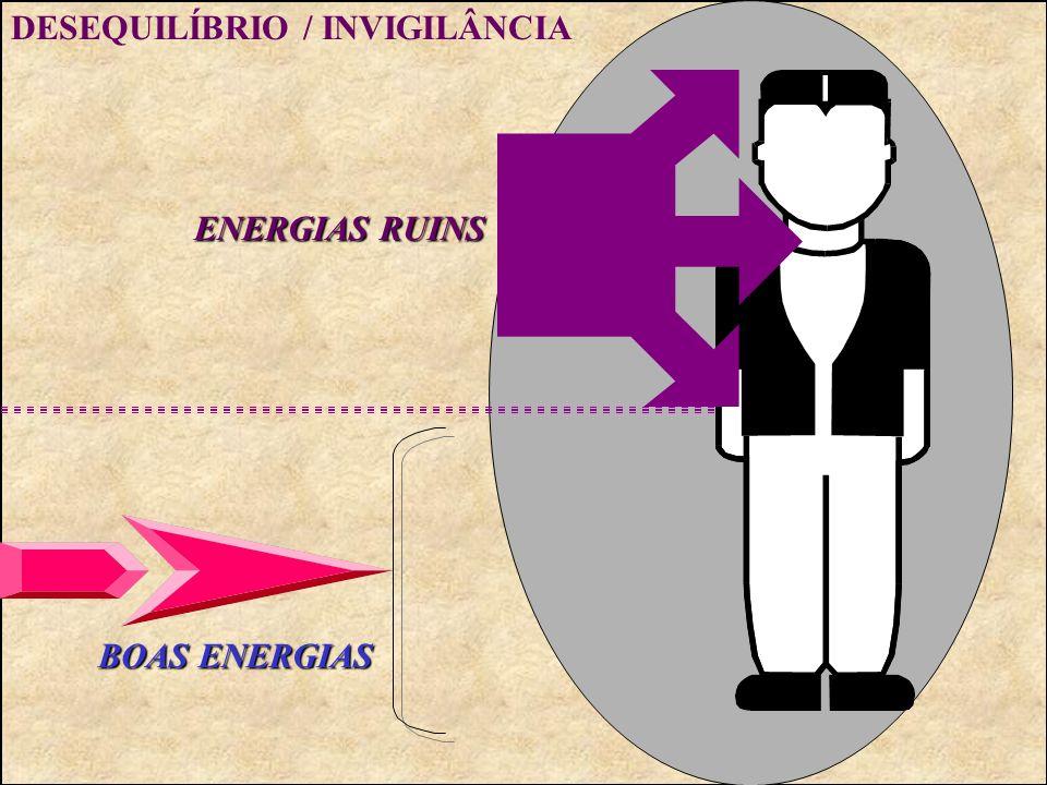 EQUILÍBRIO E HARMONIA BOAS ENERGIAS ENERGIAS RUINS