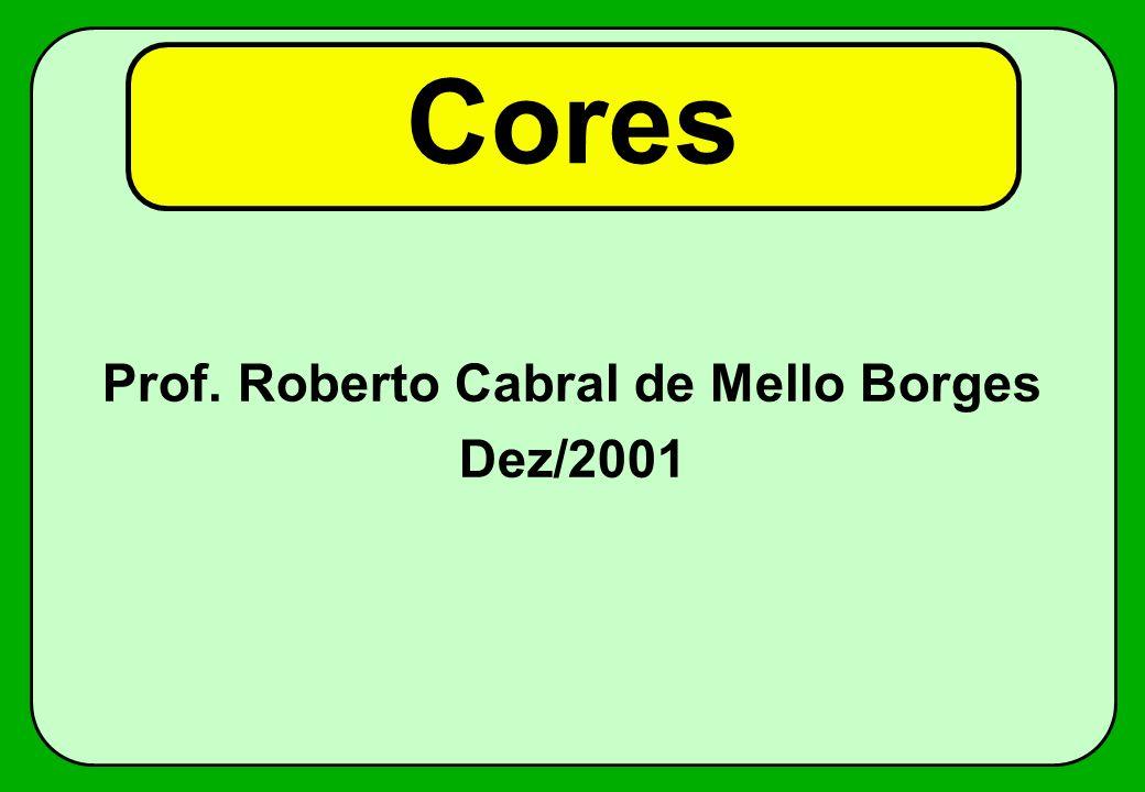 Cores Prof. Roberto Cabral de Mello Borges Dez/2001