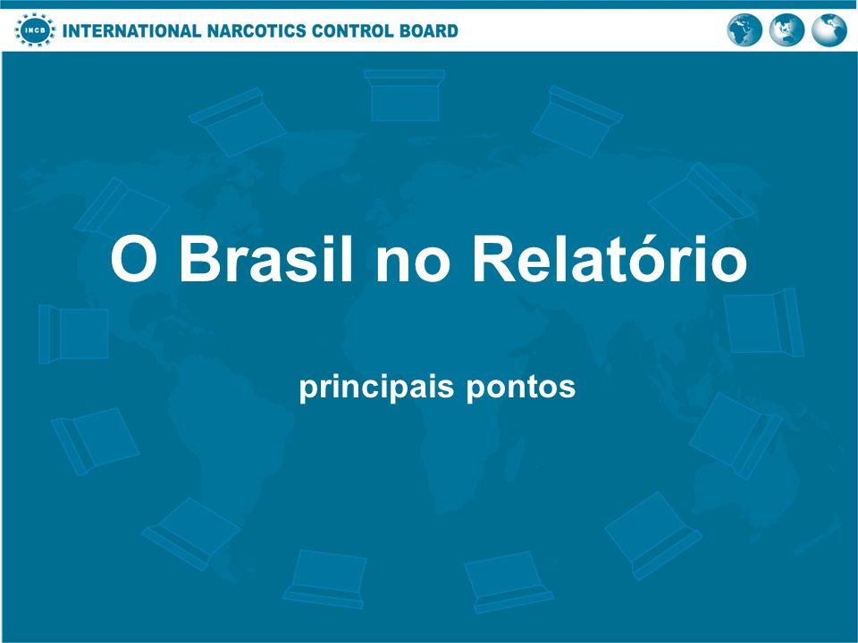O Brasil no Relatório principais pontos