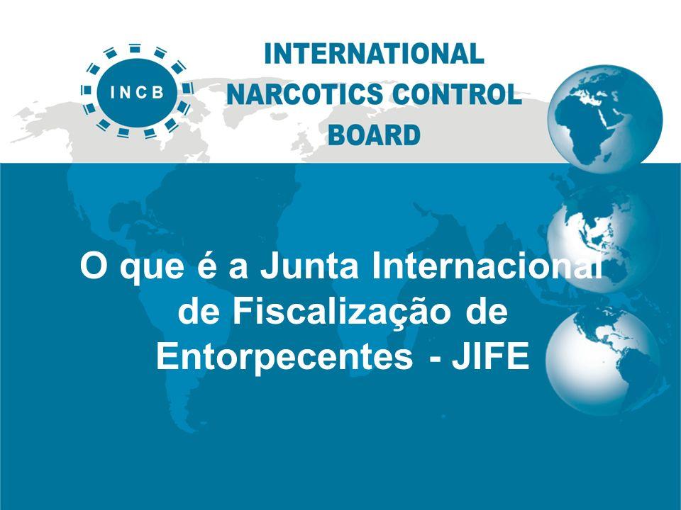 O que é a Junta Internacional de Fiscalização de Entorpecentes - JIFE
