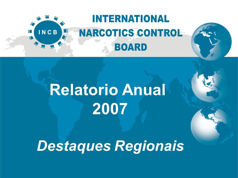 Relatorio Anual 2007 Destaques Regionais