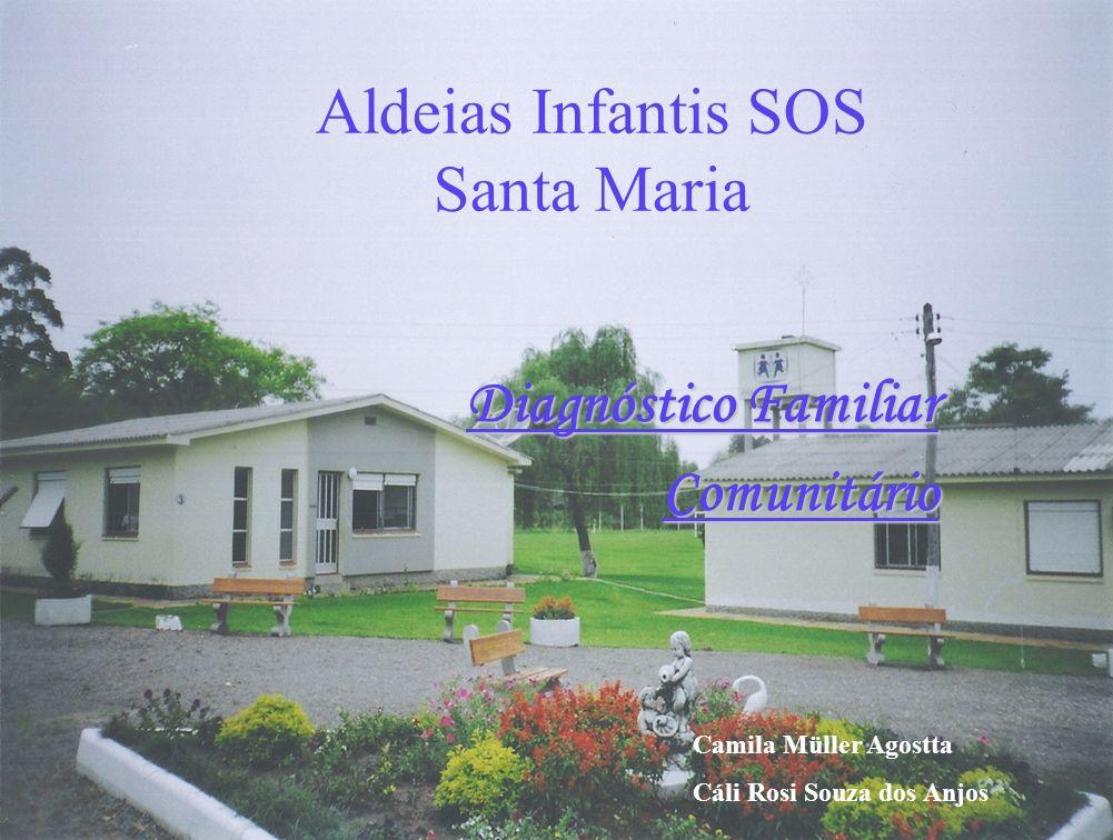 Aldeias Infantis SOS Santa Maria Diagnóstico Familiar Comunitário Camila Müller Agostta Cáli Rosi Souza dos Anjos