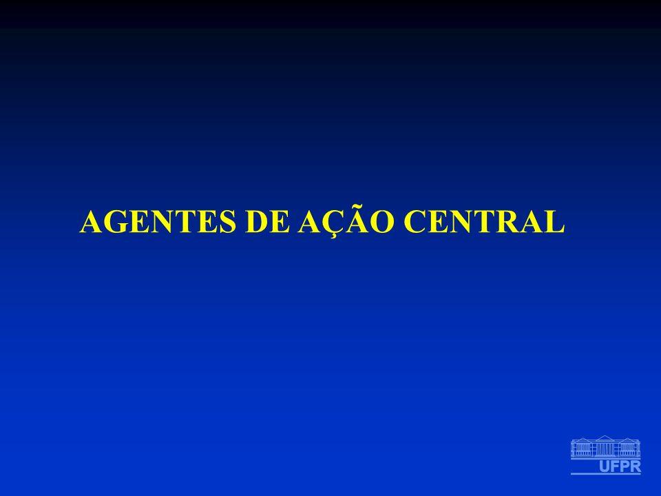 AGENTES DE AÇÃO CENTRAL