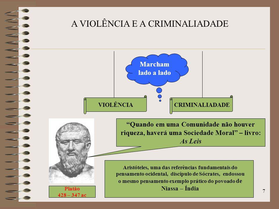 6 OS CONCEITOS DE TARDE, LOMBROSO E DURKHEIM. DAVID ÉMILE DURKHEIN Sociólogo francês 1858 - 1917 Relação entre o crime e a sociedade, enquanto as esco
