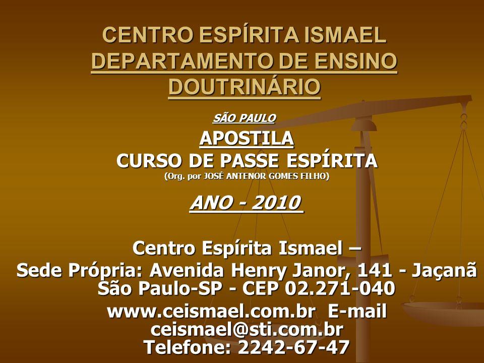 CURSO DE PASSE ESPÍRITA 3. DEUS, ESPÍRITO E MATÉRIA 3. DEUS, ESPÍRITO E MATÉRIA