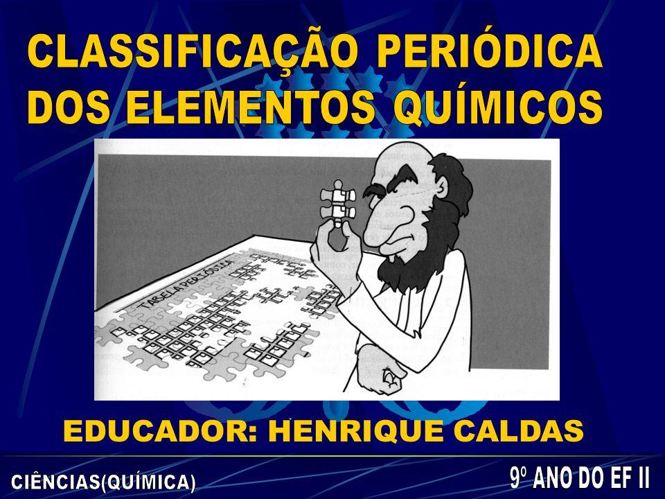EDUCADOR: HENRIQUE CALDAS