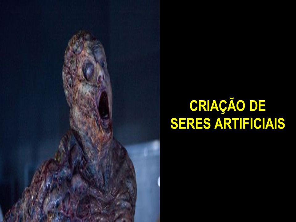 CRIAÇÃO DE SERES ARTIFICIAIS