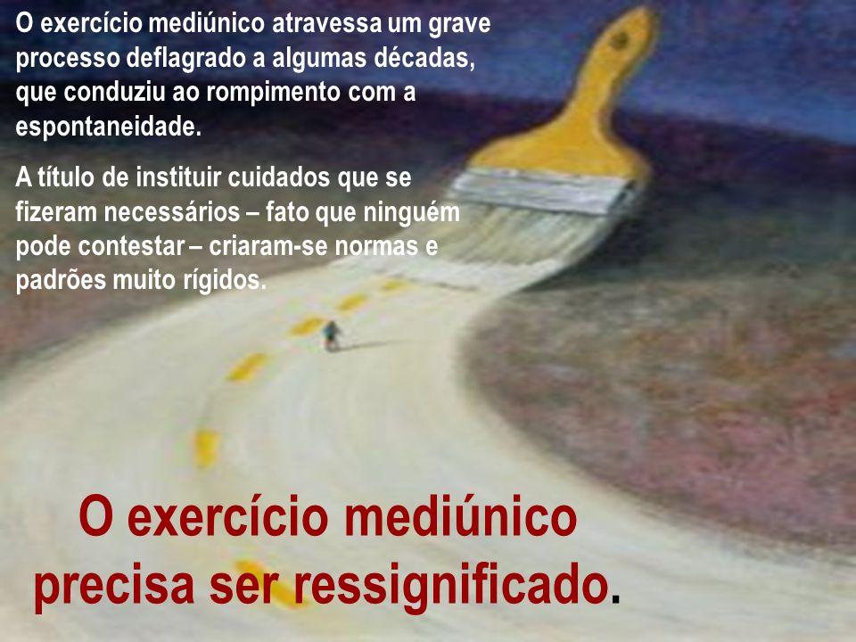 Maria Modesto Cravo O exercício mediúnico atravessa um grave processo deflagrado a algumas décadas, que conduziu ao rompimento com a espontaneidade. A