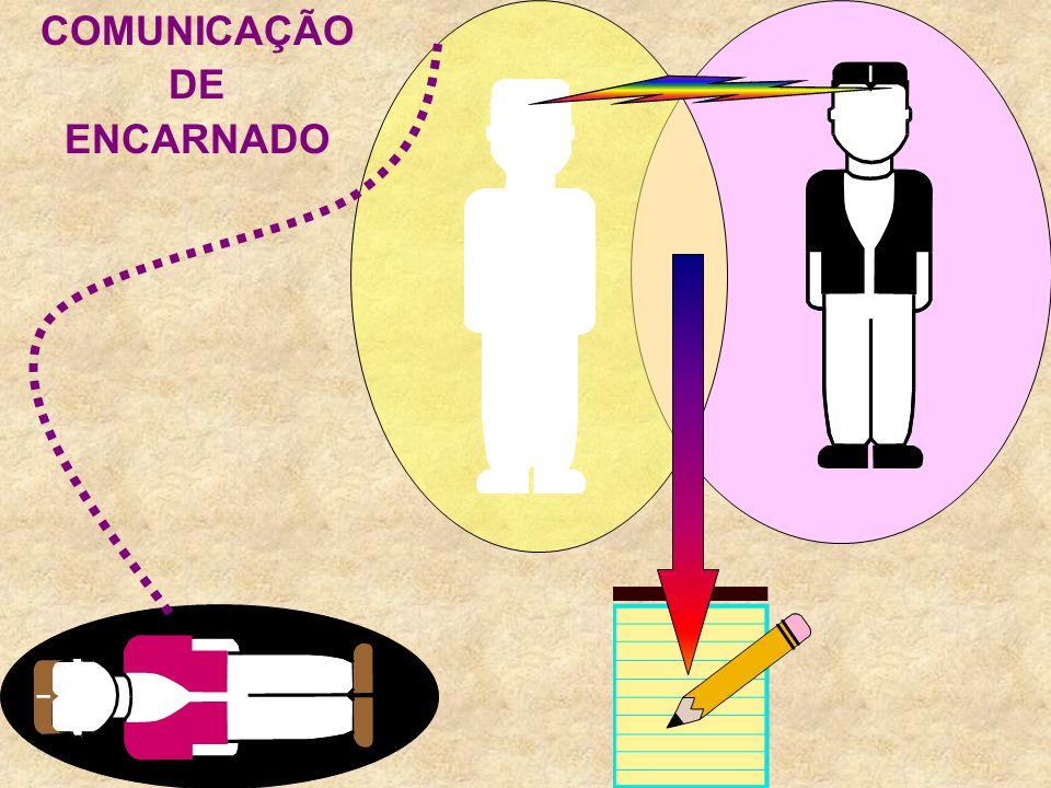 COMUNICAÇÃO DE ENCARNADO