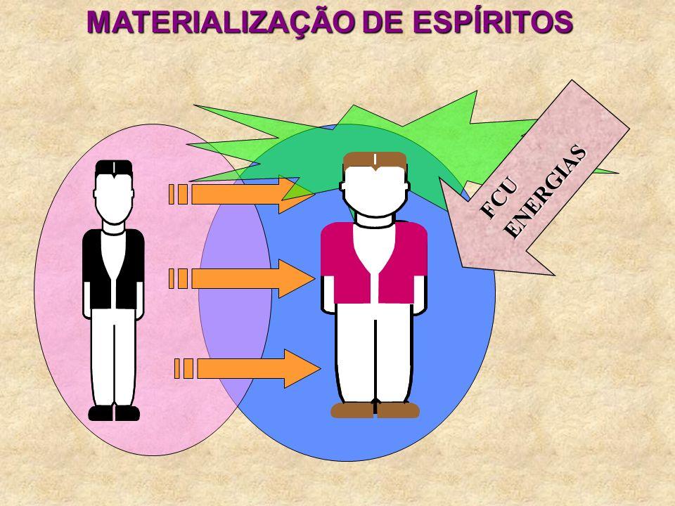 MATERIALIZAÇÃO DE ESPÍRITOS FCUENERGIAS