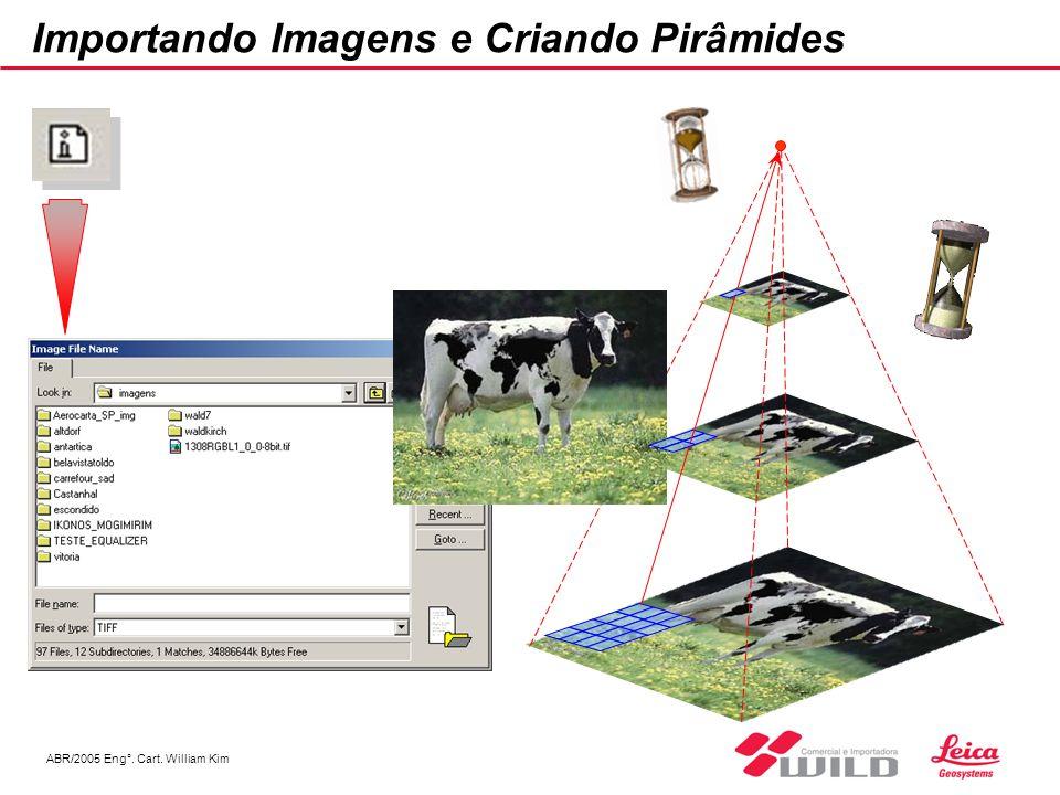 ABR/2005 Eng°. Cart. William Kim Importando Imagens e Criando Pirâmides