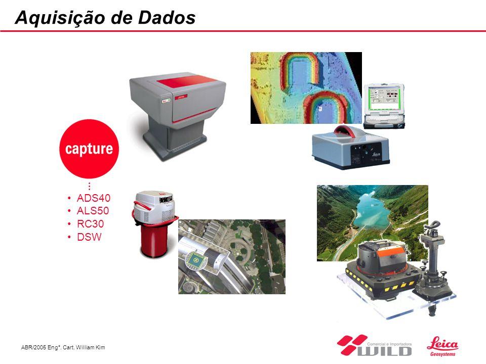 ABR/2005 Eng°. Cart. William Kim Aquisição de Dados ADS40 ALS50 RC30 DSW