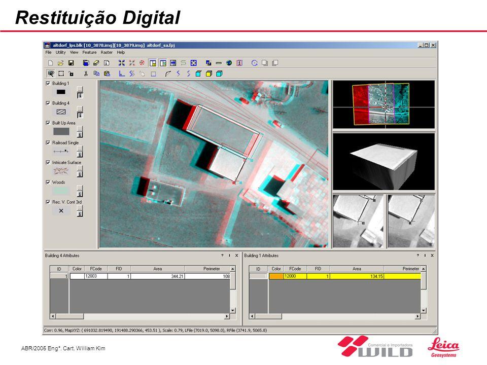 ABR/2005 Eng°. Cart. William Kim Restituição Digital