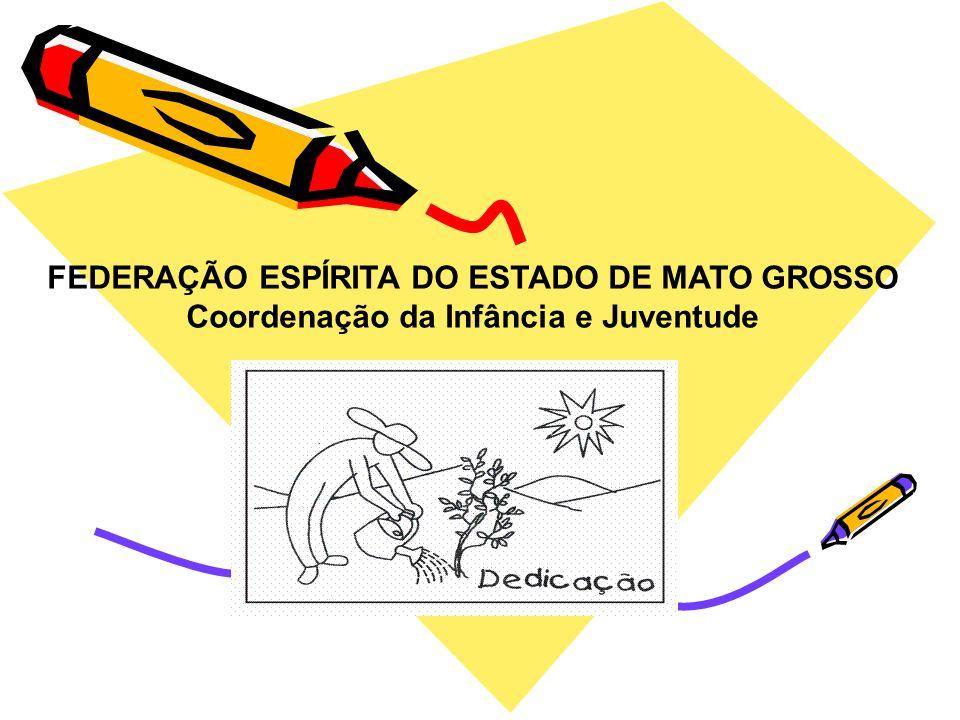 FEDERAÇÃO ESPÍRITA DO ESTADO DE MATO GROSSO Coordenação da Infância e Juventude