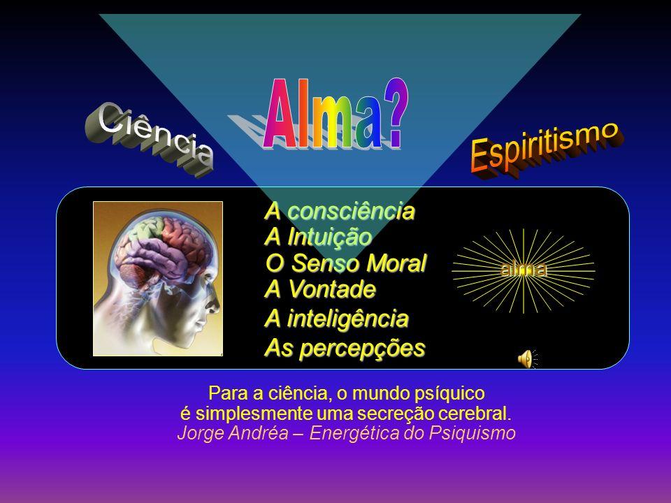 Ver OP Cap I- §12 O PERISPÍRITO NA MEDICINA ALMA O PERISPÍRITO Desempenha importante papel em todos os fenômenos psicológicos e, até certo ponto, nos