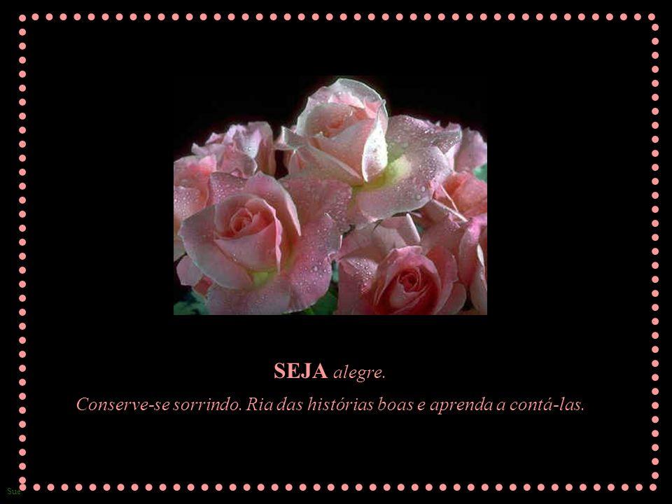 Sue TENHA... interesse nos outros - em suas ocupações, em seu bem-estar, seus lares e família. Seja sempre alegre com os que riem e lamente com os que