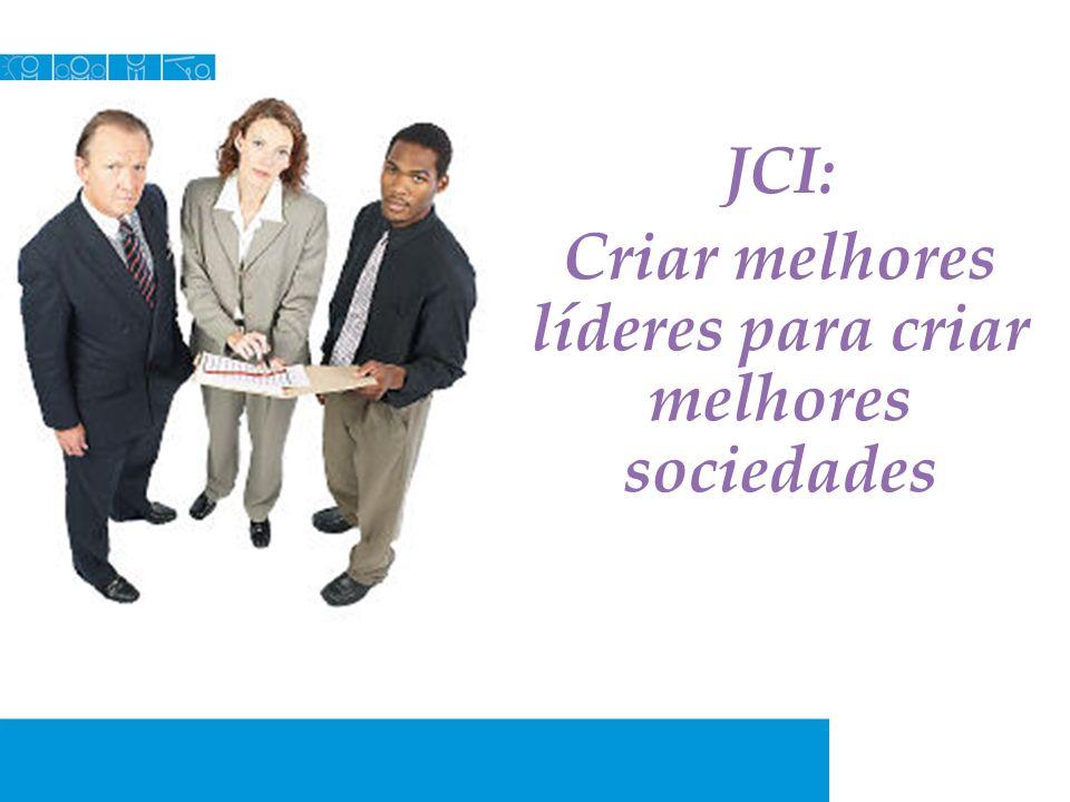 JCI: Criar melhores líderes para criar melhores sociedades