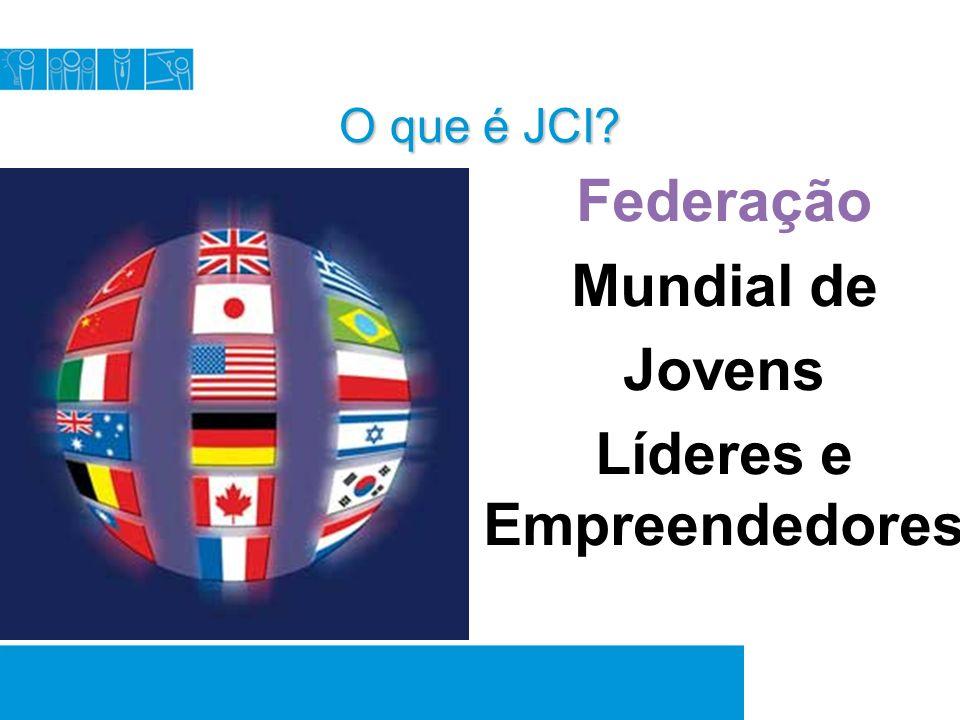 Onde estamos.A JCI está presente em 6.000 comunidades em mais de 110 países ao redor do mundo.