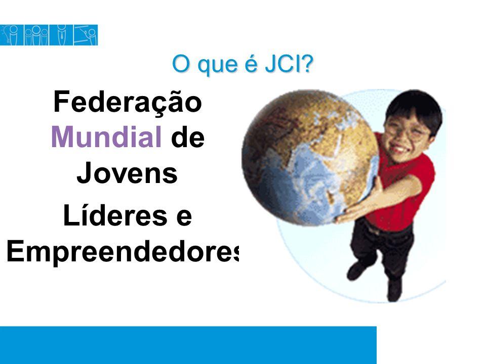 Eventos A JCI realiza anualmente 5 grandes eventos 4 conferências de Área Assunção/PY 1 Congresso Mundial: Turquia Convenção Nacional – Foz do Iguaçú/PR Encontro Regional – Blumenau/SC