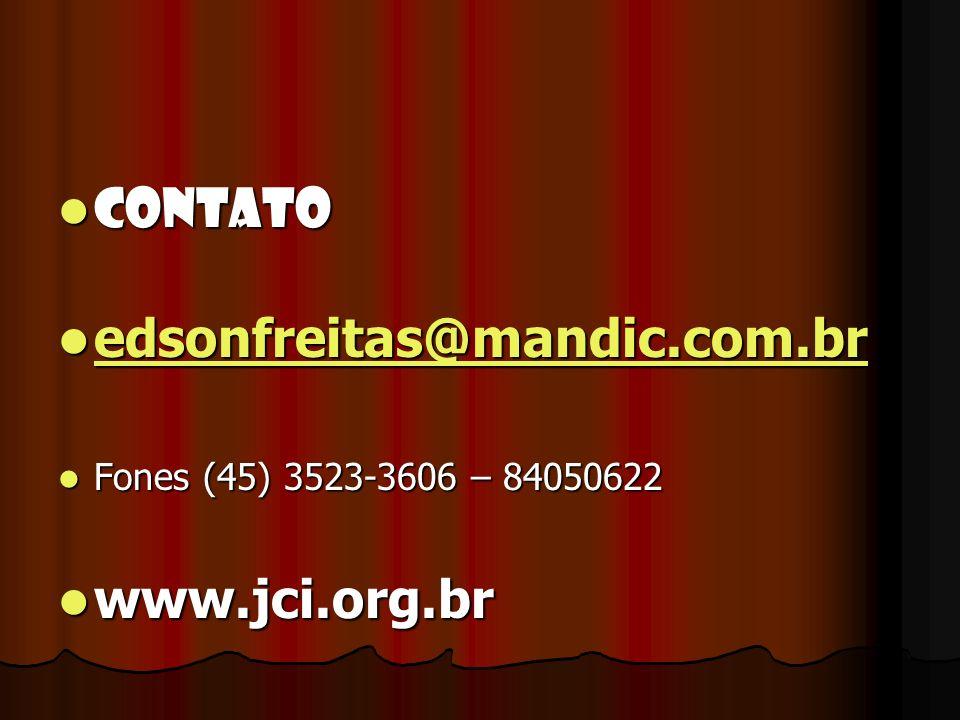 CONTATO CONTATO edsonfreitas@mandic.com.br edsonfreitas@mandic.com.br edsonfreitas@mandic.com.br Fones (45) 3523-3606 – 84050622 Fones (45) 3523-3606