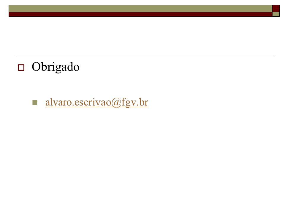Obrigado alvaro.escrivao@fgv.br