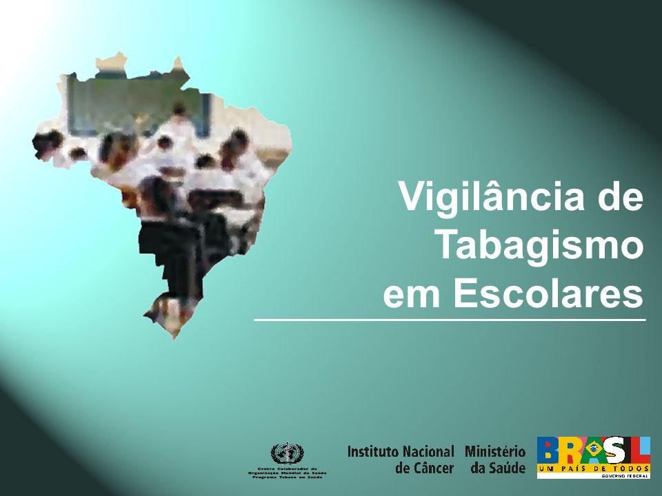 Vigilância de Tabagismo em Escolares