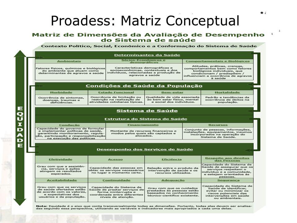Proadess: Matriz Conceptual
