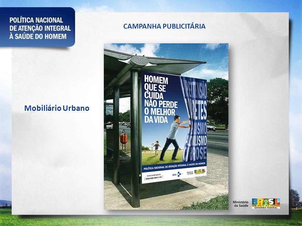 CAMPANHA PUBLICITÁRIA Mobiliário Urbano